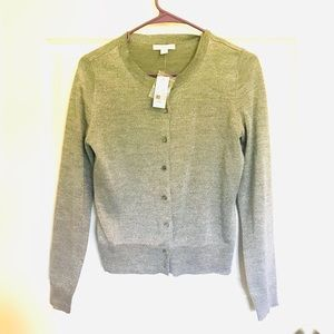 NWT New York and Company shimmery cardigan